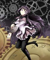 Homura's Time by YomiTrooper