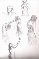 Self sketches by CrystalGears