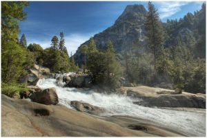 Mist Falls HDR by BrianWolfe