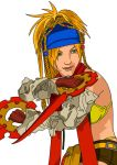 Rikku Posing by Nick-Kazama