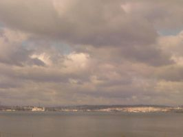 The Clouds and Me - The River Tejo 2008-04 by Kay-March
