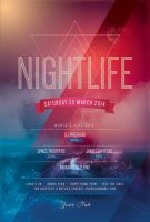NIghtlife Flyer by styleWish