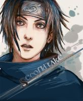 Sasuke - second take by christalisee