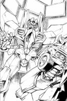 IDW Transformers 11 page 1 by GuidoGuidi