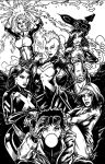X-Women inks by yosarian13