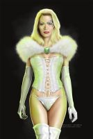Seven as Emma Frost by G672