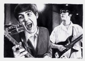 Lennon McCartney by CwK