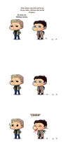 DESTIEL: How To Rescue A Deanmon by Ringquesse