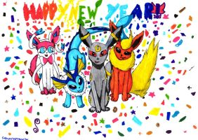 Happy New Year!!! by StormClawPonyRises