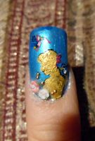 Cinderella nails 4 by myfairygodmother