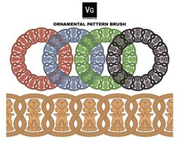 Ornamental Pattern Brush by vectorgeek