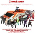 Road Rally - Team Pepper by lethe-gray