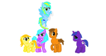 Wings of Fire Ponies by Silver-Storm-Dragon