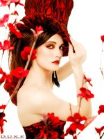 Red Blossoms by teill