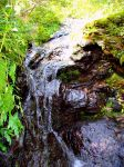 Natural waterfall by Red--bonSai