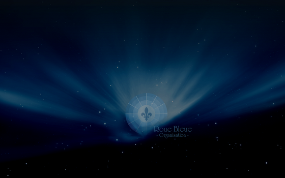 Wallpaper Roue Bleue by YesMyLadyLoL