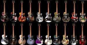 My Les Paul Collection by Rafatyu