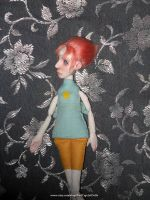 Pearl Steven Universe OOAK Art Doll 03 by LilliamSlasher