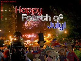 Happy Fourth of July 2014 by daanton