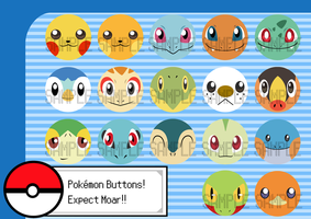 Poke Buttons by snickerdoots