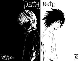 Death Note - Kira vs L by DrivenByDesperation