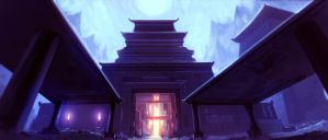 Temple by Flaskpost