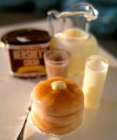 Miniature Fluffy Pancakes by AlliesMinis