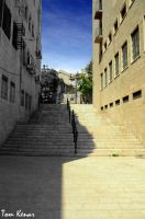 jerusalem staircase by tomkenar