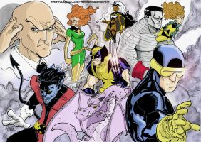The Xmen by scarecrowhassan