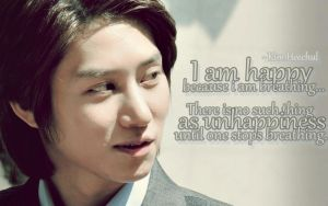 Heechul quote by madlejane