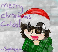 .: Caleb's Christmas Present : . by Freckled-Kat