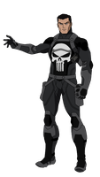 The Punisher by SpiedyFan