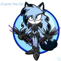.:REQUEST:. Crystal the Cat by SonicFF