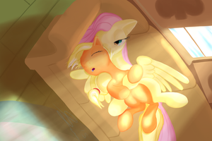 Wake up sleepy head by StillWatersPony