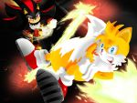 Tails Vs Shadow by Paredi