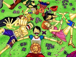 Nakama and Dreams by ArcielFreeder