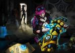 Digi-art Throwdown - League Of Legends by dinotiste