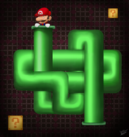Super Mario Pipes Tribute by DRLM