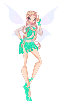 Laurette Magic Winx by CrystalisZelda