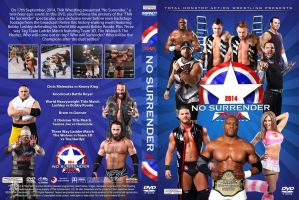TNA No Surrender 2014 DVD Cover by Chirantha