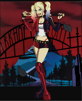 Suicide Squad Harley Quinn Re-Design by AMTModollas