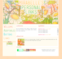 Mirabelles Personal Links - Request (april - 2013) by sweetonic