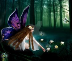 Flower Fairy by babsartcreations