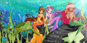 Winx: Fun Underwater! by DragonShinyFlame