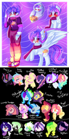 DTA: Amethyst Raincloud ref with the family tree by karsisMF97