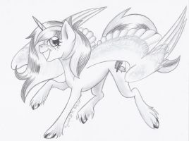 [Point Commission] Faunasha by KyuremGirl