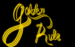 Golden Rule - Calligraphy by FlickeringFilms