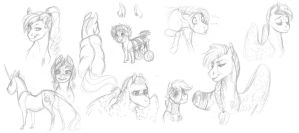 MLP Headcanon- Disabilities by Earthsong9405