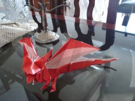 Dragon origami by Darkwolf19