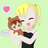 Death Note Misa's Light bear?!?! by Puffypaw